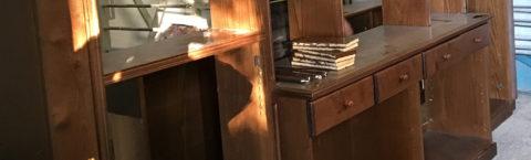 Recupero, restauro, riverniciatura e finitura di mobili antichi